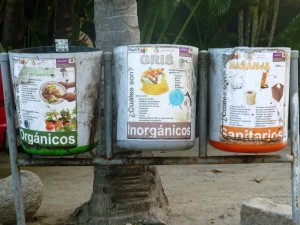 Sayulita Garbage containers